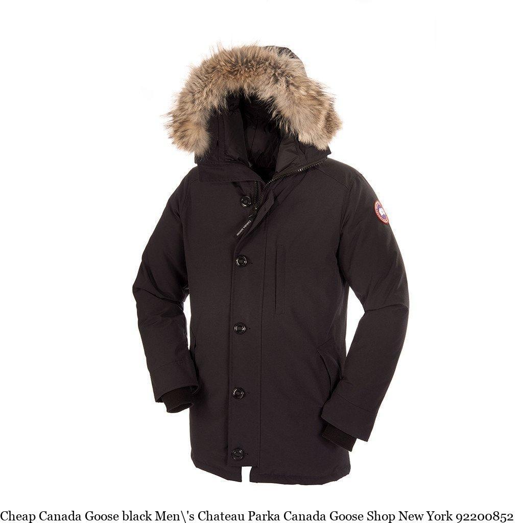Cheap Canada Goose black Men\'s Chateau Parka Canada Goose Shop New York  92200852 – Canada Goose Clearance – Cheap Canada Goose Jackets Outlet  Online Sale