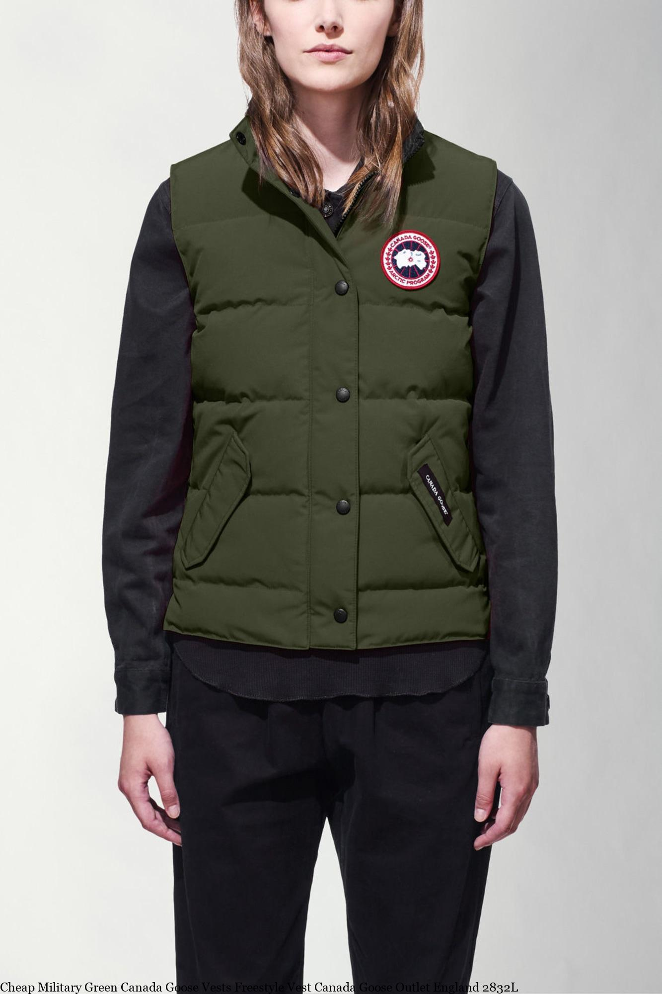Cheap Military Green Canada Goose Vests Freestyle Vest Canada Goose Outlet  England 2832L – Canada Goose Clearance – Cheap Canada Goose Jackets Outlet  Online ... 16f3ea05274f