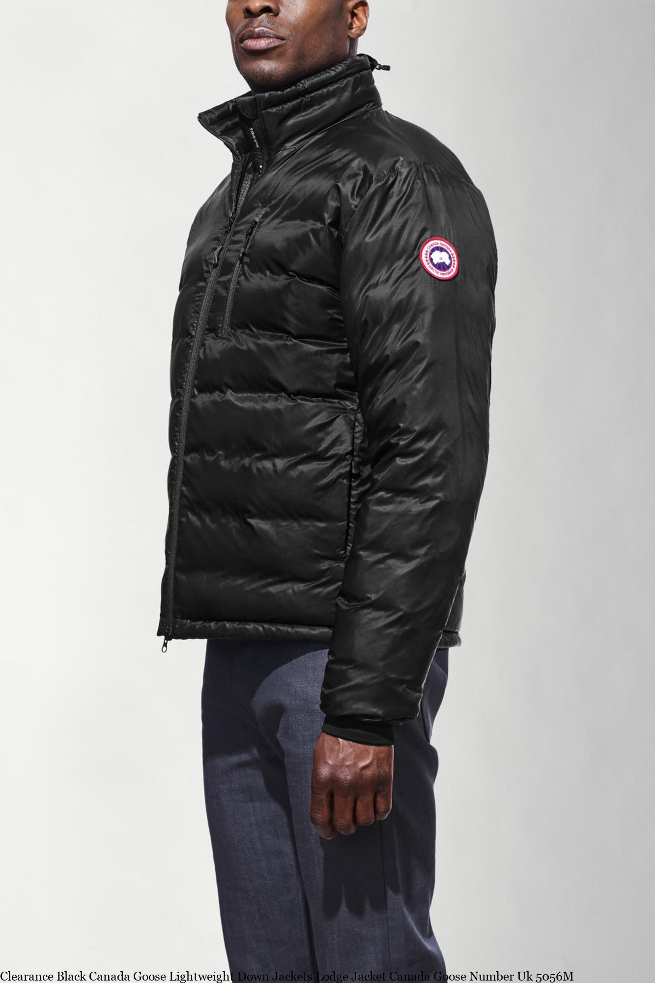 Clearance Black Canada Goose Lightweight Down Jackets