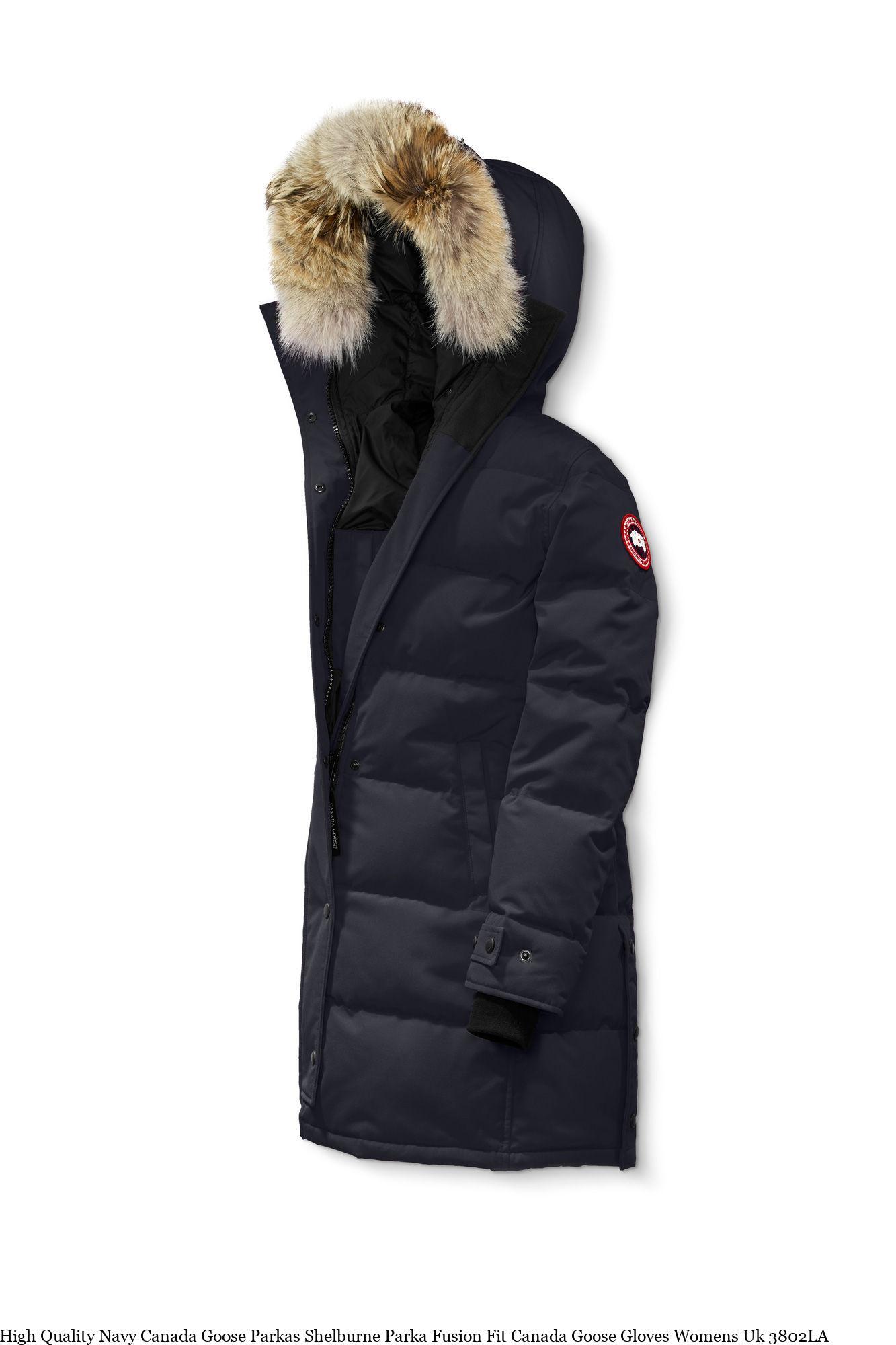 7e4a5c1b9b2 High Quality Navy Canada Goose Parkas Shelburne Parka Fusion Fit Canada  Goose Gloves Womens Uk 3802LA