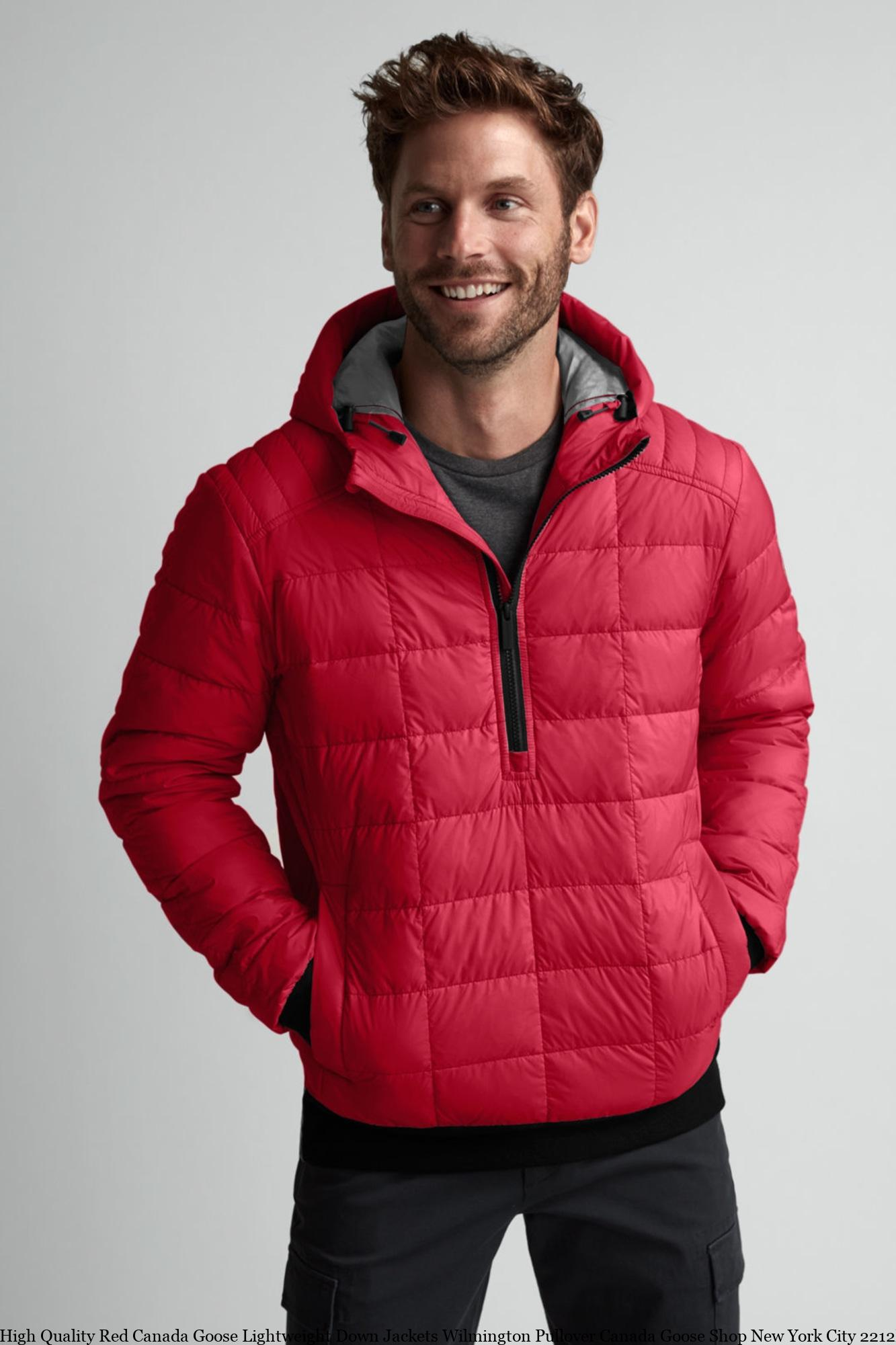 High Quality Red Canada Goose Lightweight Down Jackets Wilmington Pullover Canada  Goose Shop New York City 2212M – Canada Goose Clearance – Cheap Canada Goose  Jackets Outlet Online Sale