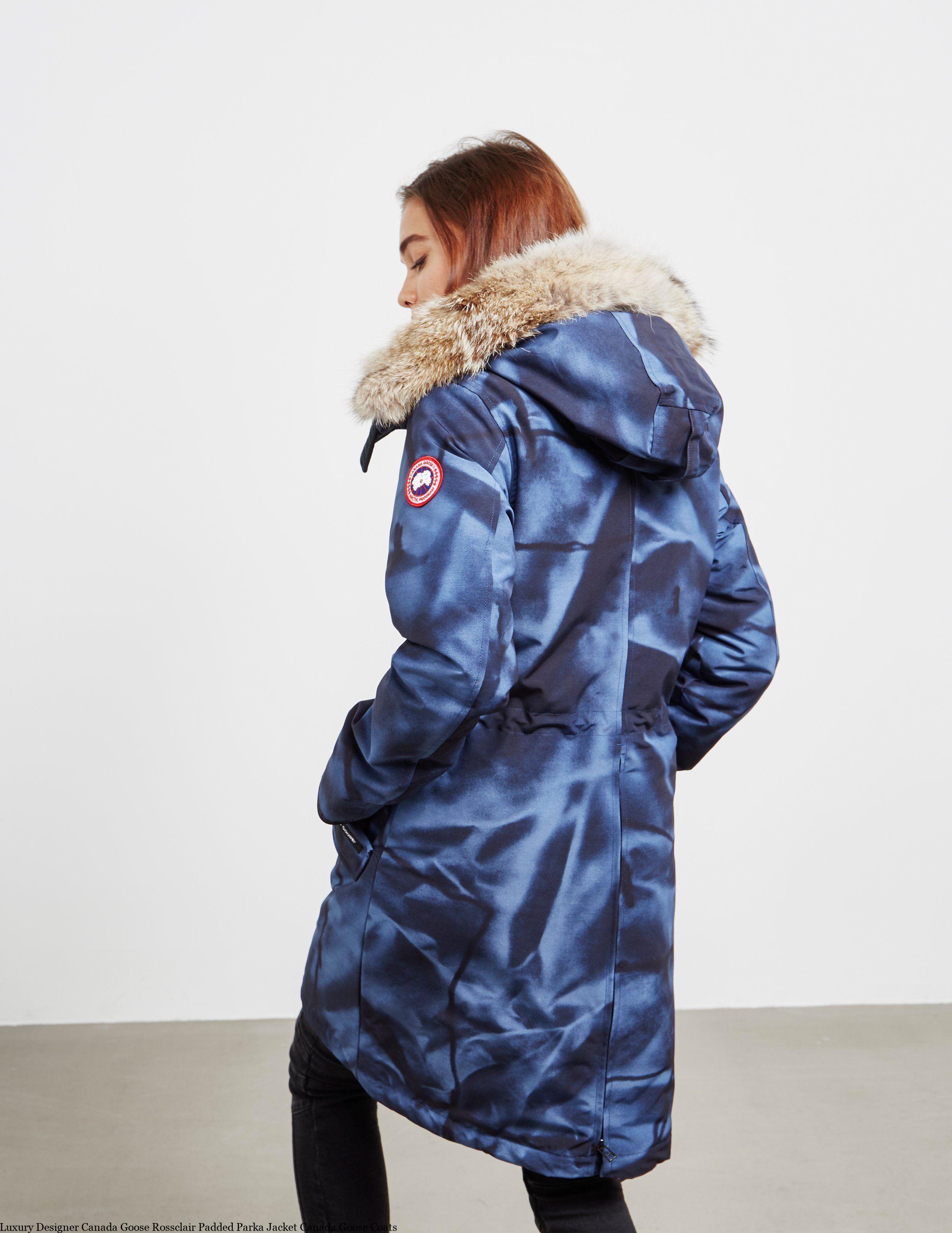 Luxury Designer Canada Goose Rossclair Padded Parka Jacket Canada Goose Coats