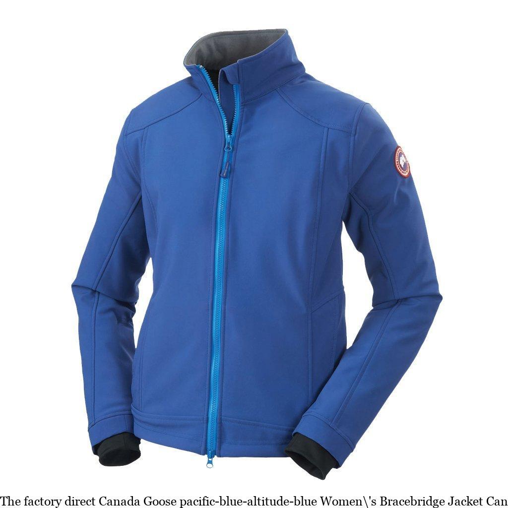 680e638f781 The factory direct Canada Goose pacific-blue-altitude-blue Women\'s  Bracebridge Jacket Canada Goose Black Friday 2019 6605120709
